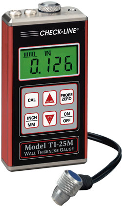 Ultrasonic Wall Thickness Gauge Ti 25m
