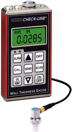 TI-007 Ultrasonic Thickness Gauge