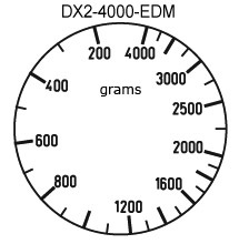 DX2-EDM Sample Dial Faces