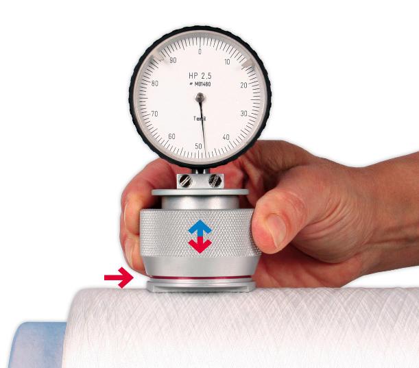 HP Textile Durometer Yarn Package Hardness Meter