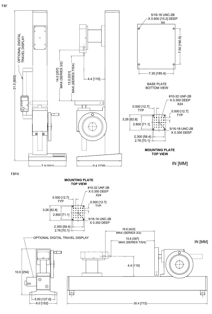 TSF Dimensions