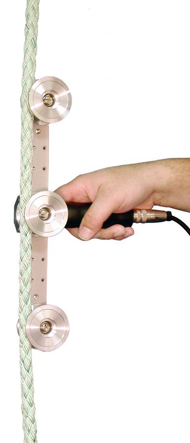 carrier rope tension meter