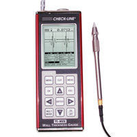 TI-PVX Precision Ultrasonic Thickness Gauge