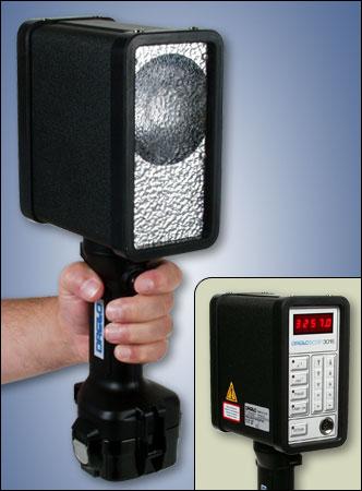 Battery Powered Digital Stroboscope Drello 3015