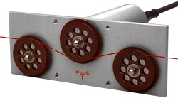 TE-22 Low Inertia Tension Sensor