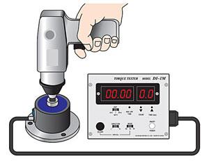 DI-1M Impact Tool Torque Tester with flange mount sensor