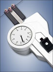 DX2FP Limited Access Tension Meter with Ceramic Pins