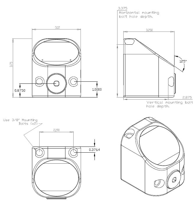 TT-QC Dimensions
