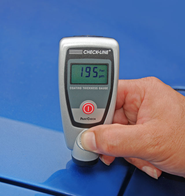 Car Paint Detector >> Paint Thickness Gauge for car body, autobody Paintcheck