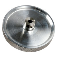 LMA-3 12 Inch Circumference Knurled Aluminum Measuring Wheel