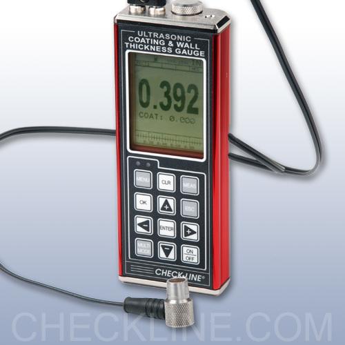 Data Logging Ultrasonic Coating Amp Wall Thickness Gauge