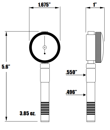 RX-1000 Dimensions