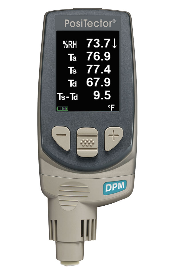 Pt-dpma1   Dew Point Meter  Standard Model With Integrated Probe With
