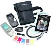 Positector 6000 Coating Thickness Gauge is supplied as a complete kit