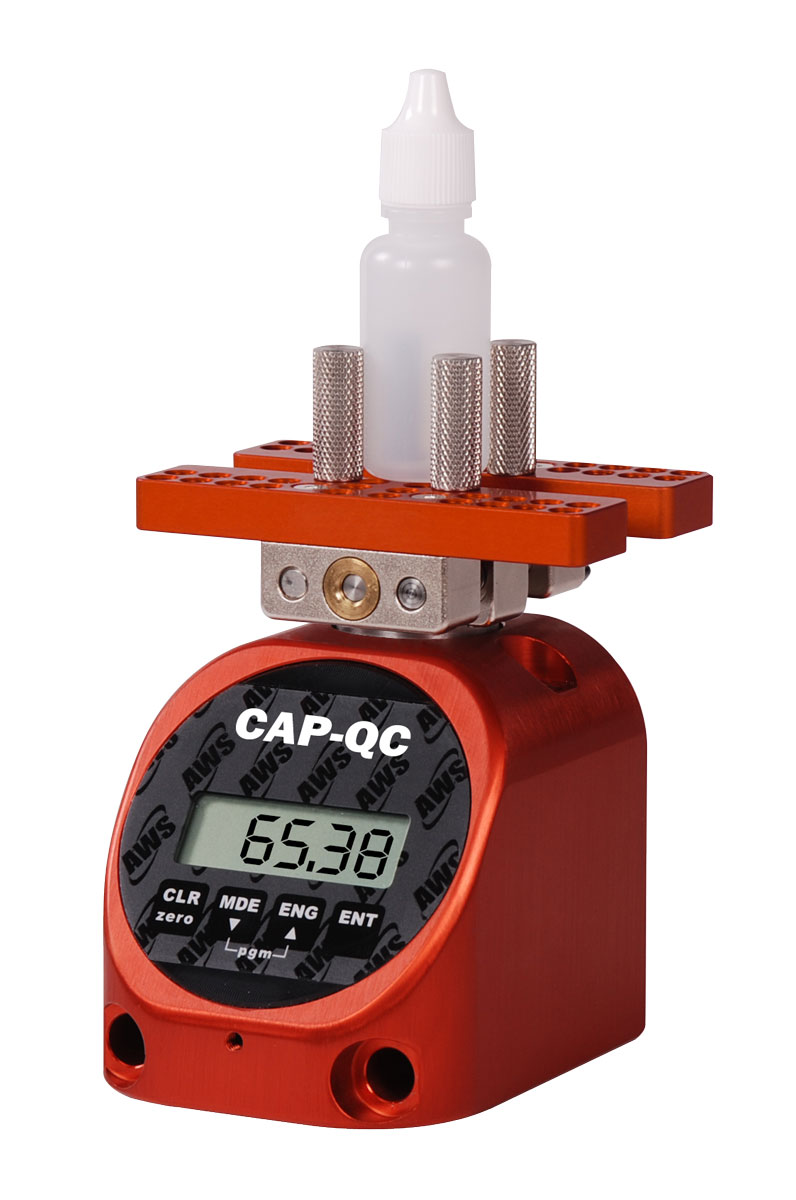 Cap Torque Tester for Vials, Eye Droppers and other small containers