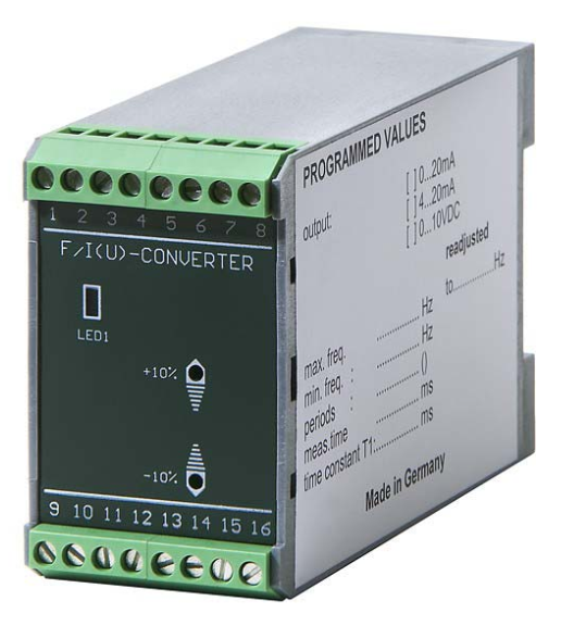 Frequency to Analog Converter - FAC-1