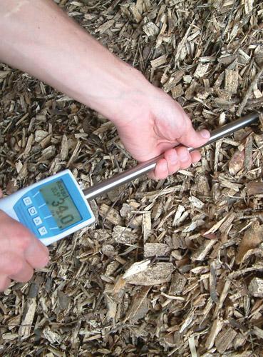 BLL Wood Chip Moisture Meter