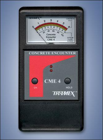 Tramex Concrete Moisture Encounter 4 Non Destructive