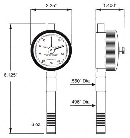 RX-2000 dimensions