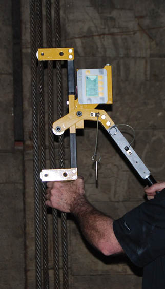 Elevator Cable Tension Meter Quick Balance Dillon Qb