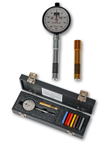 Combination Shore A and D Durometer