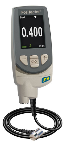 PosiTector UTG Ultrasonic Thickness Gauge
