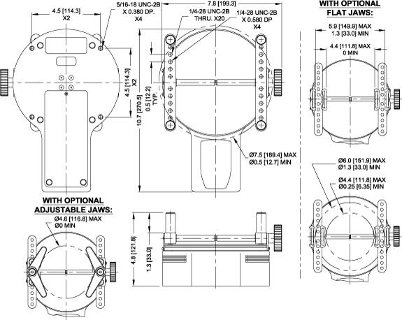 CAP-TT01 dimensions