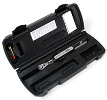 supplied in a fitted carrying case