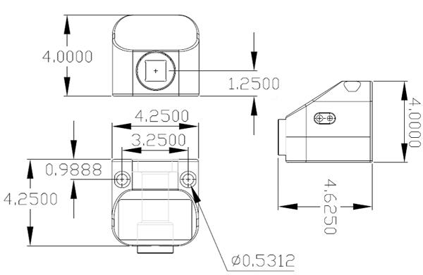TT-QCM Torque Tester dimensions