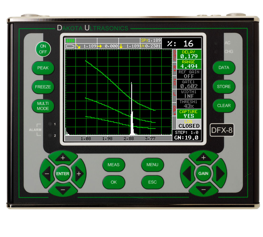 Dakota DFX-8 Ultrasonic Flaw Detector