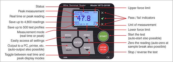 WT3-200M keypad