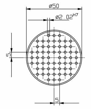X-Table Centering Device for IRHD-MICRO