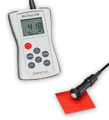 Elektrophysik Minitest 650 Coating Thickness Gauge
