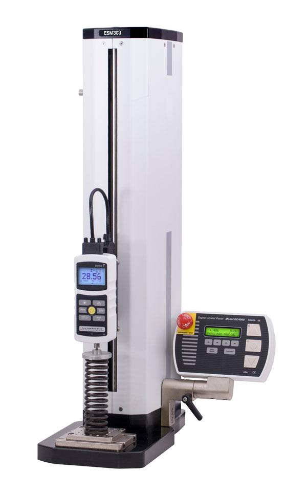Digital Deflection Meter : Esm advanced motorized test stand lb n