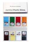 Certified Plastic Shim Set
