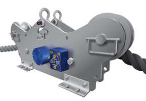 TIMH Running Line Tensiometer built with dockside, marine, offshore, towage and salvage applications in mind.