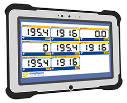 SW-RWT Latest Generation Fully Rugged Tablet for Load Cells