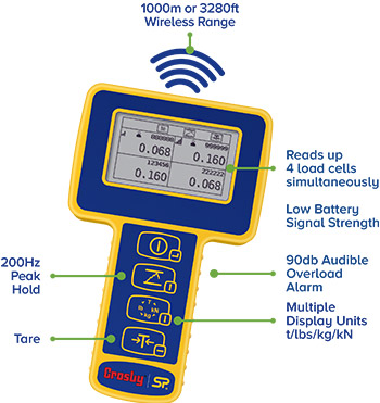 HandHeld Plus Wireless Loadcell Indicator features