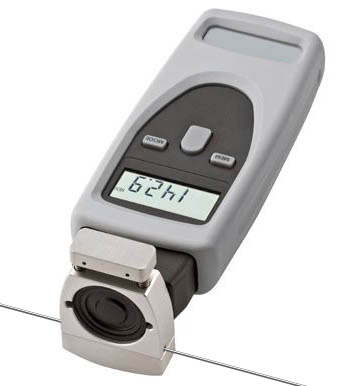 The CDT-2000HD-TW accurately measures the linear feed speed of welding wire in feet, inches or meters per minute.