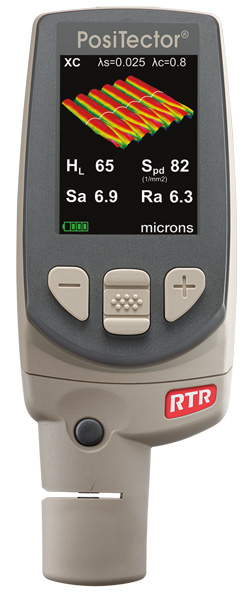 Positector RTR 3D Replica Tape Reader to Measure and Record 2D/3D Surface Profile Parameters