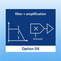 Option DX 2nd voltage output, filtered with additional amplification for TS621 / TS621HD