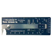 Junior Tri-Gauge Pit & Welding Gauge