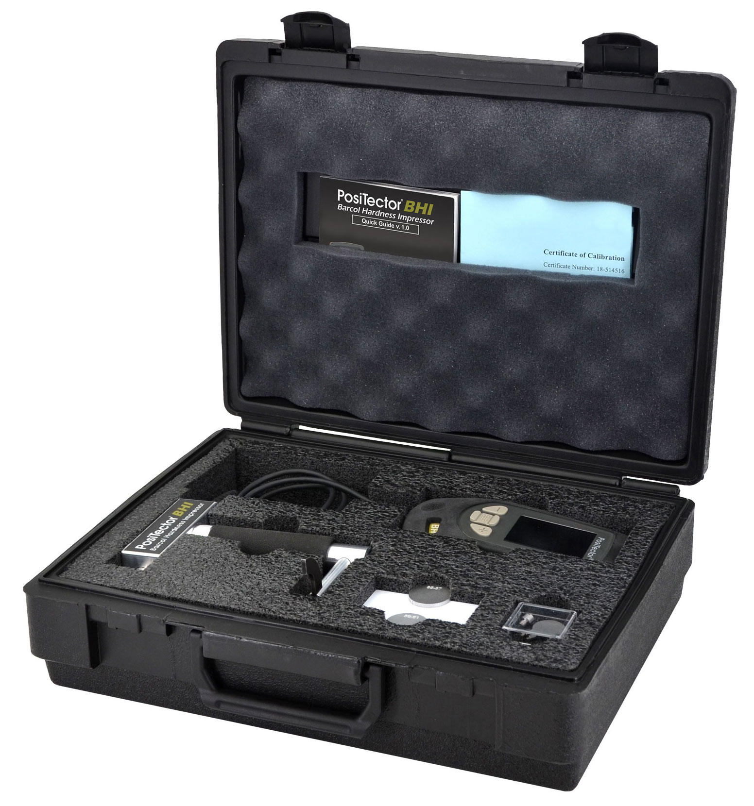 PosiTector BHI Barcol Hardness Impressor Complete Kit