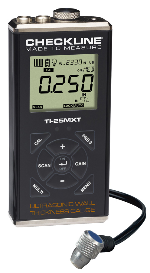 Ultrasonic Wall Thickness Gauge - TI-25MXT