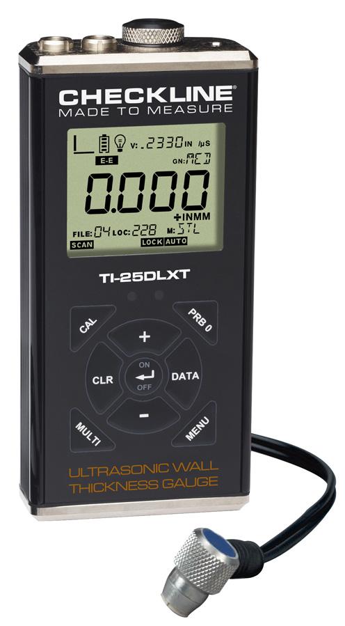 Ultrasonic Wall Thickness Gauge - TI-25DLXT