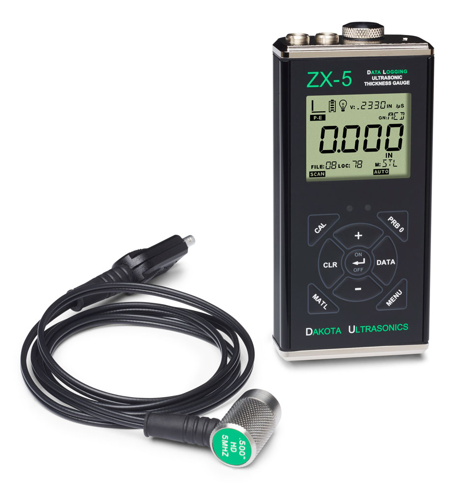 Dakota ZX-5DL Ultrasonic Thickness Gauge