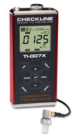 TI-007X Precision Ultrasonic Wall Thickness Gauge