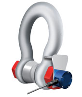Wired Loadshackles, Shackle load cells