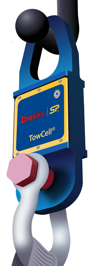 Towcell Towbar tow hitch load cell