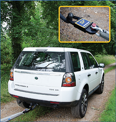 towcell tow hitch dynamometer